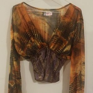 SOLO ANIMAL blouse